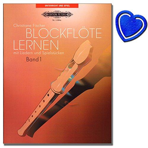Blockflöte lernen mit Liedern und Spielstücke Band 1 - Blockflötenschule von Christiane Fischer...