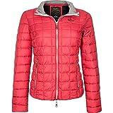 HV Polo Society Damen Tatum Jacke Steppjacke Hibiskus oder Charcoal (XS, Hibiscus)