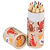 Farbmalstifte für Kinder, Colourful Creatures, 12