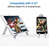 Urban Kings Multi-Angle Portable Stand For Tablets E-readers And Smartphones Durable Aluminum Body Compatible For Apple IPads IPad Air IPad Mini / New IPad Mini IPhone 5S 5C 5 4S 4; Samsung Galaxy Tab 2 Tab 3 Note 8.0 10.1 S4 S3 S2; Google Nexus 4 7 10; A