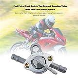 airiver Aluminum Universal Benzinhahn Benzin Schalter für Generator Gasmotor Kraftstofftanks für Motorrad Quad ATV Tasche Pit Dirt Bike