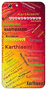 Karthiaeini (Indian godness name) Name & Sign Printed All over customize & Personalized!! Protective back cover for your Smart Phone : Sony Xperia T-2 Ultra