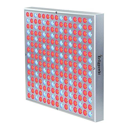 Erligpowht Pflanzenleuchte 45 Watt 225 LEDs Rot&Blau LED-Pflanzenlampe Pflanzen Wachstumslampe Pflanzenlicht Wuchslampen Innengarten Pflanze wachsen Licht Hängeleuchte