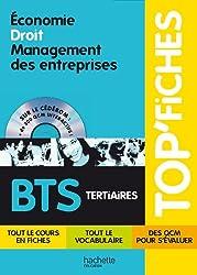 TOP'Fiches - Economie, Droit, Management des entreprises BTS