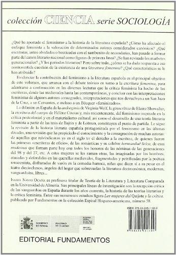 La literatura española y la crítica feminista (Ciencia / Economía, política y sociología)