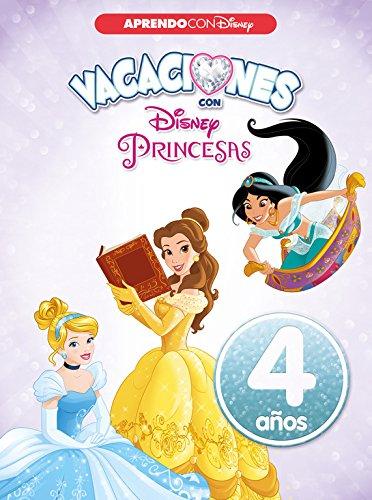 Vacaciones con las Princesas Disney. 4 años (Aprendo con Disney) por Disney