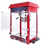 Kukoo Retro Popcornmaschine Popcorn Maker Popcornautomat Popcorn Automat Partyservice