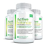 Active Balance (3 Bottles) Advanced High Potency Probiotic Supplement - 50 billion CFU