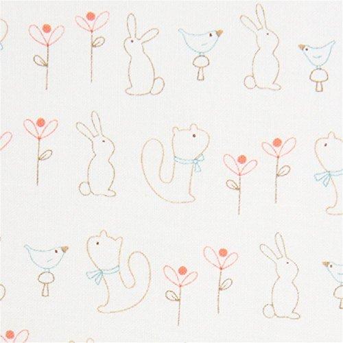 Moda Baumwollgewebe mit Tieren, aus den USA, Kollektion: Corner of 5th and Fun, Design: Sandy Gervais -