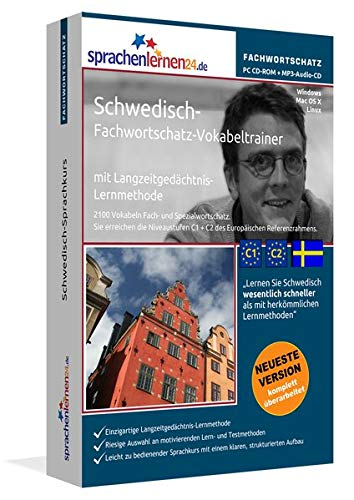 Schwedisch-Fachwortschatz-Vokabeltrainer mit Langzeitgedächtnis-Lernmethode von Sprachenlernen24:...