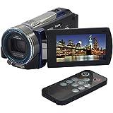 """CkeyiN ® Full HD Flash Camcorder / Digital Video-Kamera (16 Megapixel(16Mp), 10-fach optischer Zoom, 10-fach digitaler Zoom, schwenkbares 7,62 cm / 3.0"""" Touchscreen Display, IR-Nachtsicht, Bewegungserkennung Timer Shooting, Li-Ionen Hochleistungsakku, HDMI, SD/SDHC-Kartenslot) + Remote Control"""