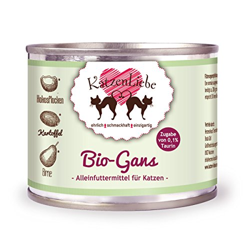 big sale 6c81e 3723e Katzenliebe 12x Bio-Gans mit Bio-Kartoffel Preisvergleich