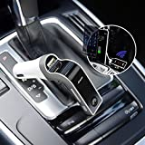 Automotive Battery Charger Best Deals - CARG7 Bluetooth Car Kit MP3 FM Transmitter USB Charger Handsfree Mobile - Silver