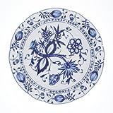 Kahla 170863A72067U Zwiebelmuster   Geschirr-Set Porzellan   Tafelservice 6 Personen blau weiß rund 30 teilig Set Teller Suppenteller Tassen
