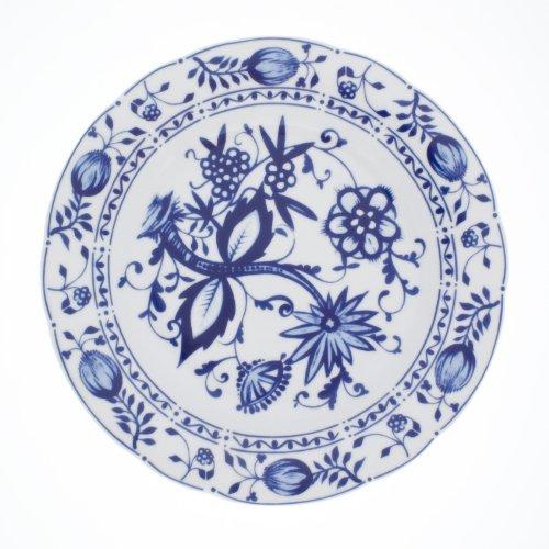 Kahla 170863A72067U Zwiebelmuster | Geschirr-Set Porzellan | Tafelservice 6 Personen blau weiß rund...