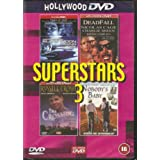 FILMS - SUPERSTARS 3 - 4 GREAT MOVIES ON 2 DVD'S - BLACK MOON RISING, DEADFALL, THE CROSSING, NOBODY'S BABY