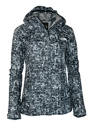 The North Face Women's Novelty Venture Full Zip Hooded Waterproof Rain Jacket (TNF Black, L) North Face Women Venture Jacket