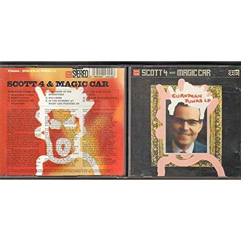 SCOTT 4 - EUROPEAN PUNKS - CD (not vinyl)