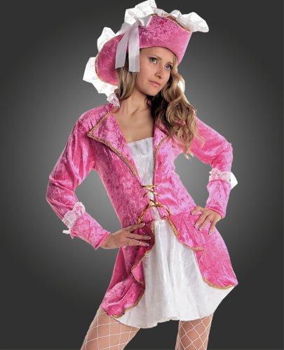 Maylynn 11283 - Kostüm Piratin, 2-teilig, Größe S, pink