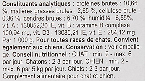 Biofood Friandise Anti-Puces Saumon pour Chat 100...