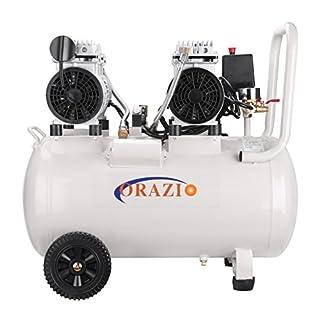 241185 Silent Type Air Compressor 65DB 220V 1100W 50L For Garage Workshop Clinic