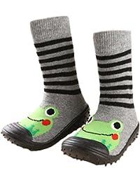 leap frogFloor Sock Slipper - Zapatillas altas niña
