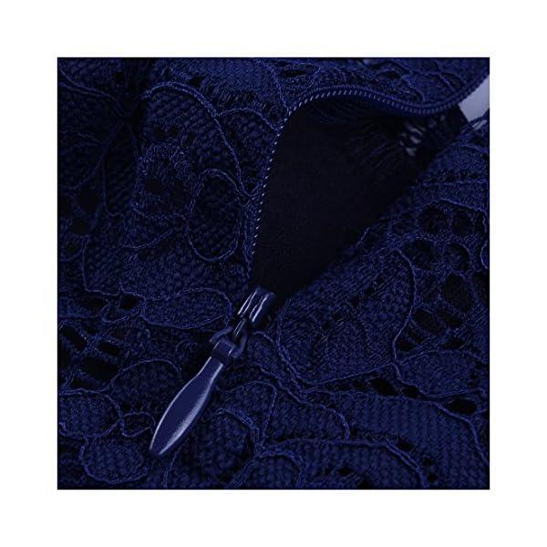 a283bf0990e3 HomeAbbigliamentoMIUSOL Donna Pizzo Vestito Lunghe Vintage 1950 s Cerimonia  Lungo Abito Da Sera. -45%. 🔍. Abbigliamento