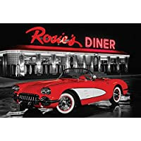 "Pyramid International "" Rosie's Diner Maxi Poster, Multi-Colour, 61 x 91.5 x 1.3 cm preiswert"