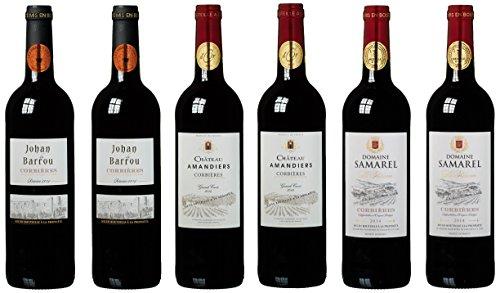 """Wein Probierpaket """"Das Beste aus Corbières"""" (6 x 0.75 l)"""