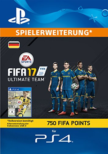 m - 750 FIFA Points [PlayStation Network Code - deutsches Konto] (Fifa Ultimate Team Spieler)