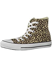 Converse Chuck Taylor All Star Core Hi, Zapatillas altas Unisex adulto, Marrón (Leopard), 41.5 EU