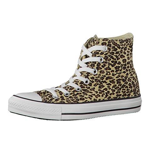 Converse Ctas Core Hi, Baskets mode mixte adulte Marrone (Leopard)