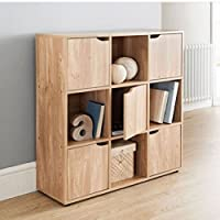 Great Gift! Wooden Storage Cube System Bookcase Unit Cabinet Display Shelf \ Bedding Bedroom Table Sets Furniture Boys Girls Unisex Children