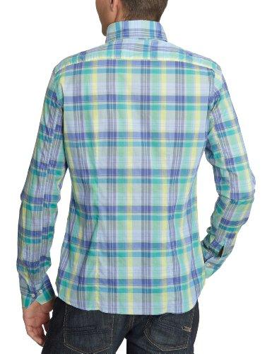 Signum 1/1 lord b.d. patch 111715804–3 chemises/loisirs pour homme Vert - Grün (Smaragd-Kiwi-Flieder )