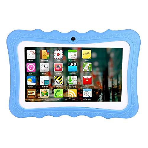 Gaddrt 7 Zoll 1G + 8G 1024 * 600 Auflösung Tablet Android Quad-Core Wireless Foto MP5 PC Tablette (Blue)