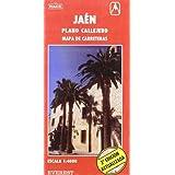 Jaén. Plano callejero y mapa de carreteras: Plano callejero. Mapa de carreteras (Planos callejeros / serie roja)