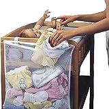 Lorjoy Lit bébé Mesh Sac Newborn Pouch Nuit Pare-Chocs bébé Diaper Organisateur...