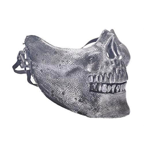 Halloween Maske gruselige Gesichtsmaske Halloween Maskerade Maske Horror Schädel Gesichtsmaske Party Kostüm Spielen Prop