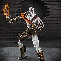 Yiwa Modelo de Juguete-Kratos de Juego God of War,con Arma,de