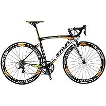 SAVA Bicicleta de Carretera de Fibra de Carbono 700C SHIMANO 5800 22-Velocidad Sistema Bicicleta