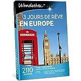 Wonderbox - Coffret cadeau Séjour 3 JOURS DE REVE EN EUROPE - 2110 séjours en hôtels 3* à 5* pour 2 personnes à Londres, Florence, Prague, Berlin, Barcelone, Lisbonne…