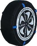 Chaussette neige textile pneu 245/45R18 excellente protection de la jante - Valise comprenant 2...