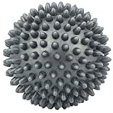 7cm Spiky Punkt Massage Ball Roller Fußreflexzonenmassage Stress Relief Palm Fuß Arm Hals Grau - 2