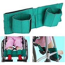 Correas para sillas de ruedas - Correas para reposapiés para sillas de ruedas, cinturones para
