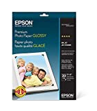 Premium Photo Paper, 68 lbs., High-Gloss, 8 x 10, 20 Sheets/Pack