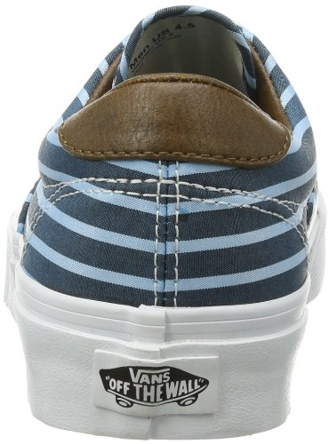 Vans U Era 59, Baskets mode mixte adulte Bleu - Blau ((Stripes) blue/)