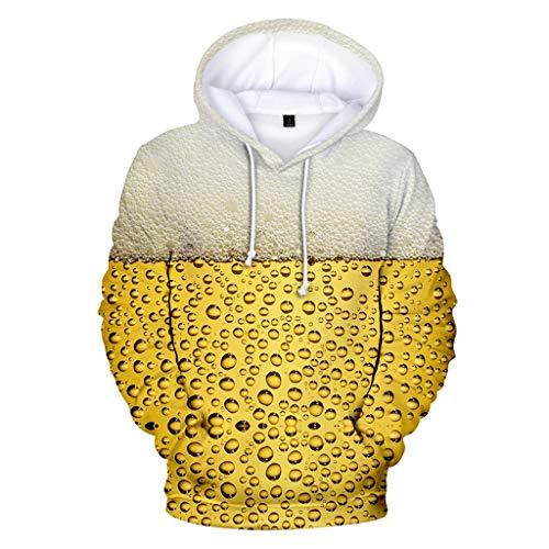 Original Übergröße Kostüm - Hooded Sweatshirt Sweater ◆Elecenty◆ 3D Outwear