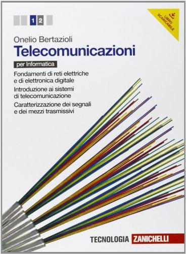 Telecomunicazioni. Per le Scuole superiori. Con espansione online: 1