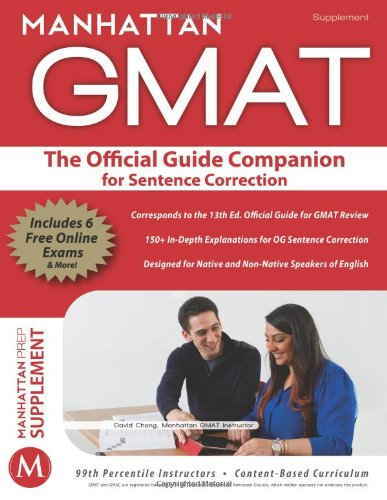 Official Guide Companion for Sentence Correction Paperback