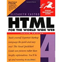 HTML 4 for the World Wide Web (Visual QuickStart Guides) by Elizabeth Castro (1999-10-20)